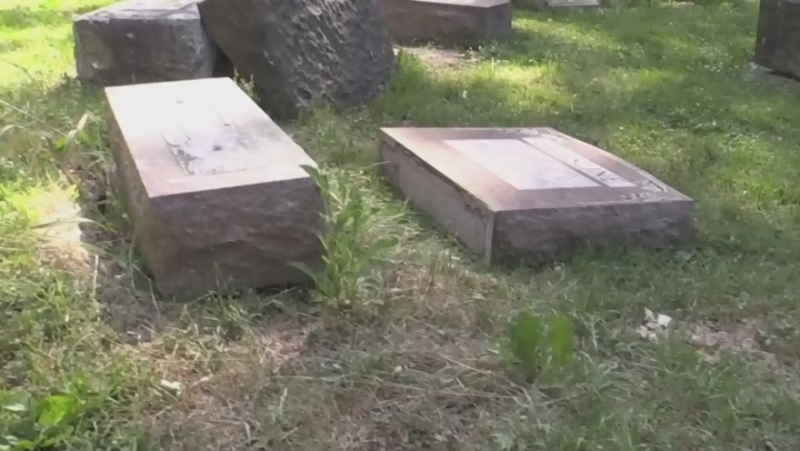 Sadness, upset after damage to Stratford cemetery