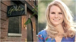 Michele Romanow says she  is stepping away from Goldie night club as a minority shareholder after the establishment was accused of hosting a secret party in downtown Toronto. (Joshua Freeman/CP24 and Michele Romanow/LinkedIn)