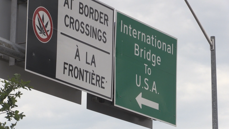 Sault Ste. Marie city council is expected to pass a resolution asking the federal government to extend its border shutdown, but one councillor says he wants to see a regional approach when it inevitably reopens. (Christian D'Avino/CTV News)