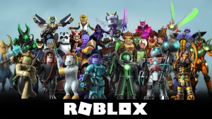 An avatar line-up for the online gaming platform Roblux. (Roblux)