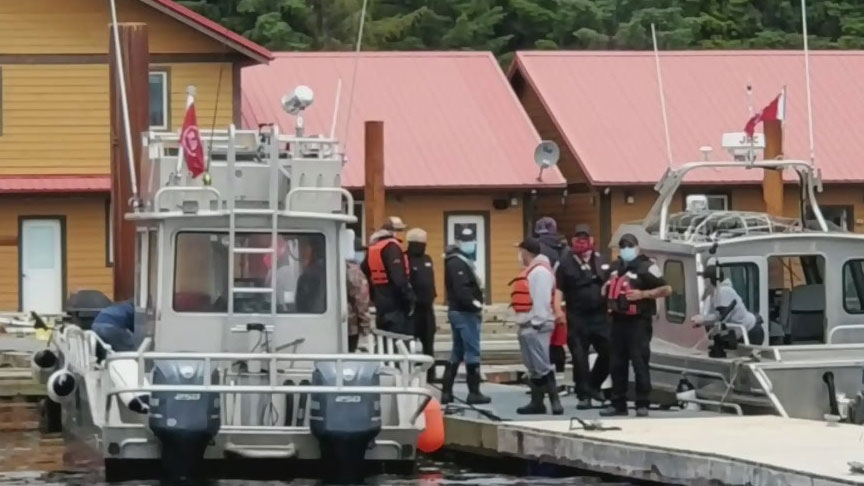 B.C. fishing lodge clashes with Haida Nation