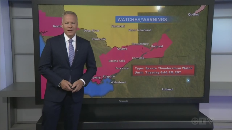 CTV Morning Live Weather July 07