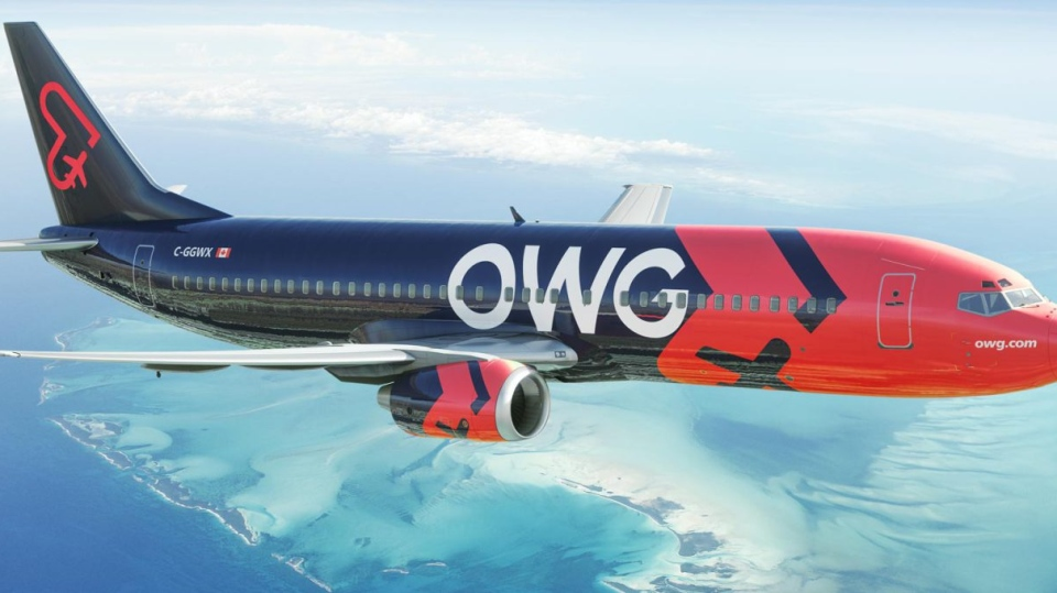 Quebec company Nolinor Aviation announced its new airline OWG on Tuesday, July 7, 2020. / OWG Website