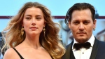 Heard and Depp met on the set of the 2011 film 'The Rum Diary', married in 2015 and divorced in 2017. (AFP)