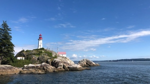 A sunny day at Lighthouse Park in West Vancouver. (Photo by Brianna Turner)