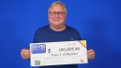 Kevin Jack, a Blenhiem grandfather, wins $100,000 with Encore. (Courtesy OLG)
