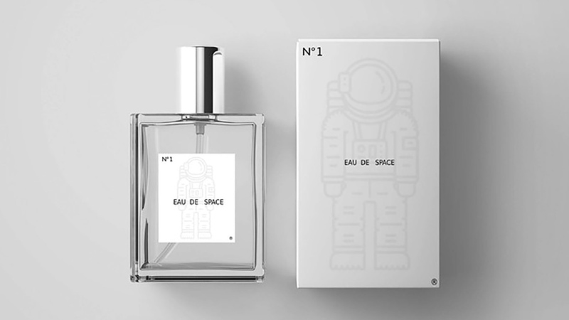 Eau de Space is a new fragrance based on the smell of outer space. (Credit: Courtesy Eau de Space Fragrance / CNN)