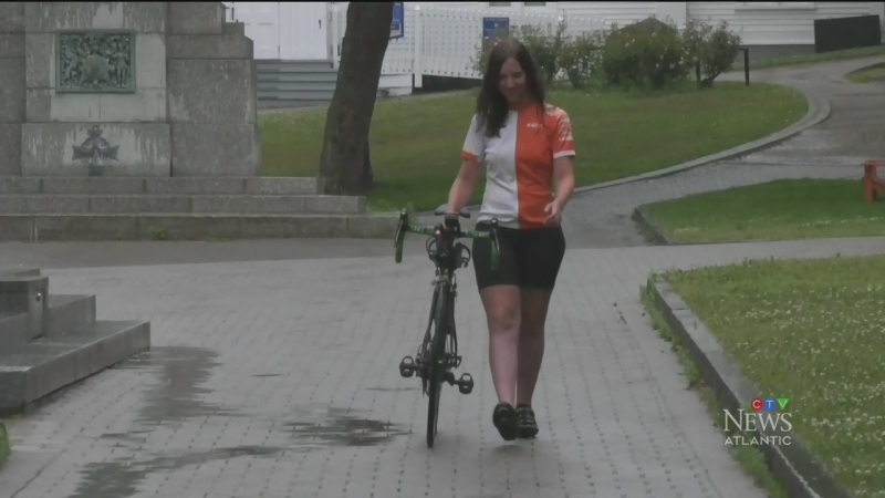Meet the fastest woman to bike across Canada