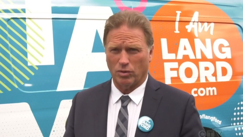 Langford Mayor Stew Young and city councillors are throwing their support behind local businesses in a new municipal campaign: (CTV News)