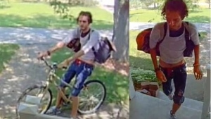 Police say the man went to a home on South Talbot on Sunday, July 5, 2020. (Courtesy Essex County OPP)