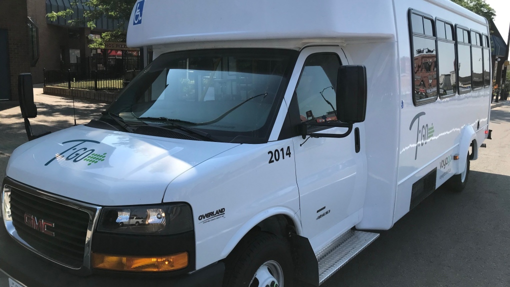Voygo regional transit bus