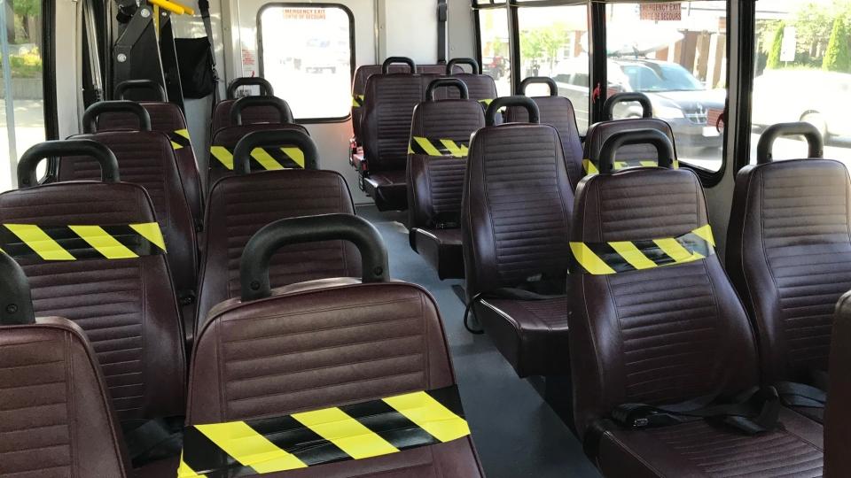 Regional transit bus