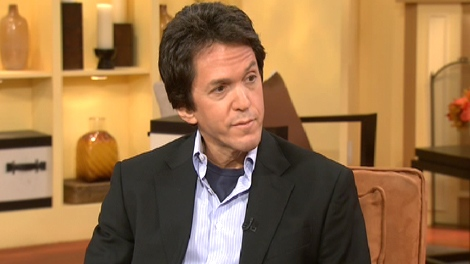 Mitch Albom appears on Canada AM from CTV studios in Toronto, Monday, Oct. 5, 2009.