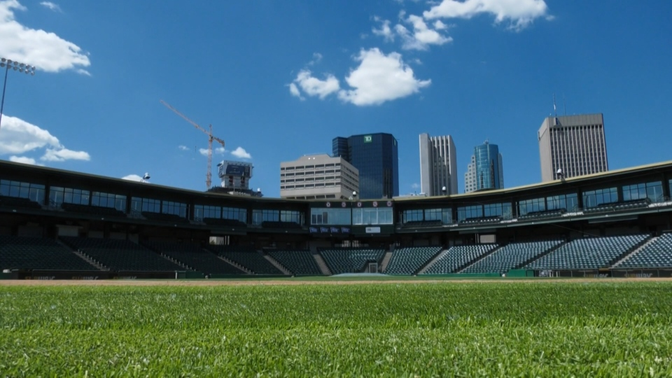 The city and the Winnipeg Goldeyes are currently negotiating a new lease deal for the team to play at Shaw Park (CTV News File Photo)
