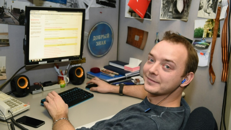 Until he started his Roscosmos job in May, Safronov worked as a journalist covering defence matters and politics. (AFP)