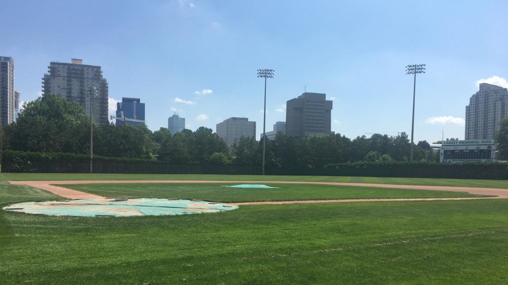 Labatt Park baseball diamond