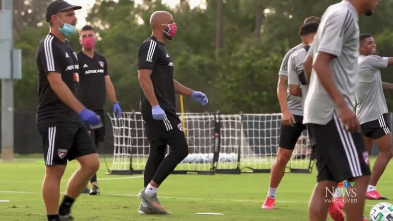 Whitecaps arrive in Florida for MLS tournament