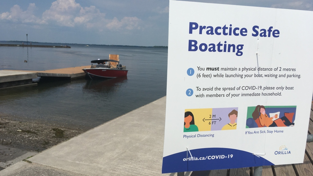 Orillia boat launch