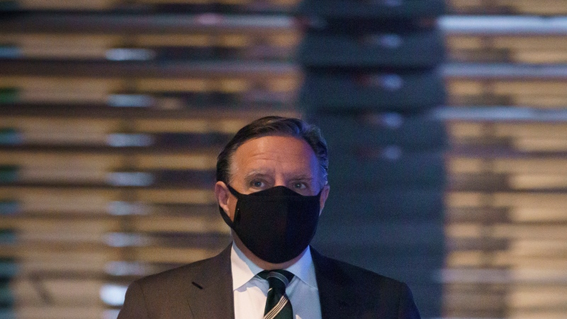 Quebec Premier Francois Legault. (File: THE CANADIAN PRESS/Paul Chiasson)