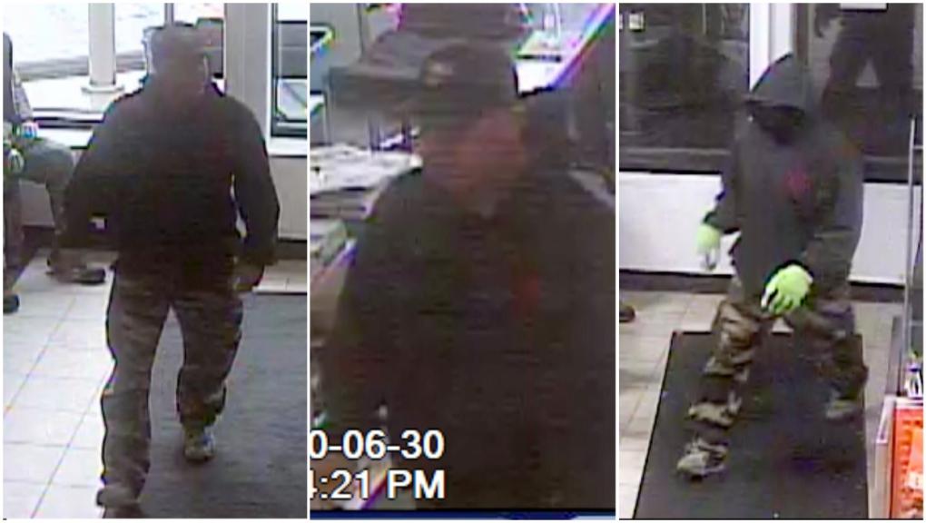 Calgary break-in suspect