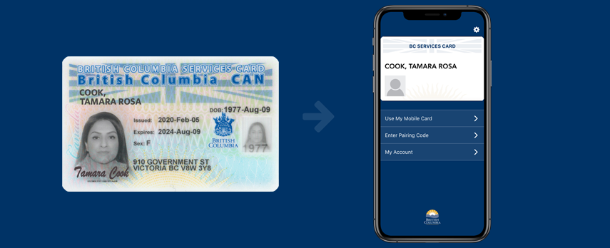 Virtual services card