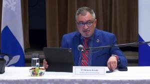Quebec public health director Horacio Arruda