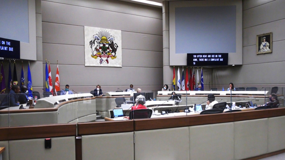Dozens of speakers shared their experiences of systemic racism with a council committee Tuesday afternoon. Over 130 people have signed up to speak.