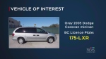 Police search for minivan after double-homicide