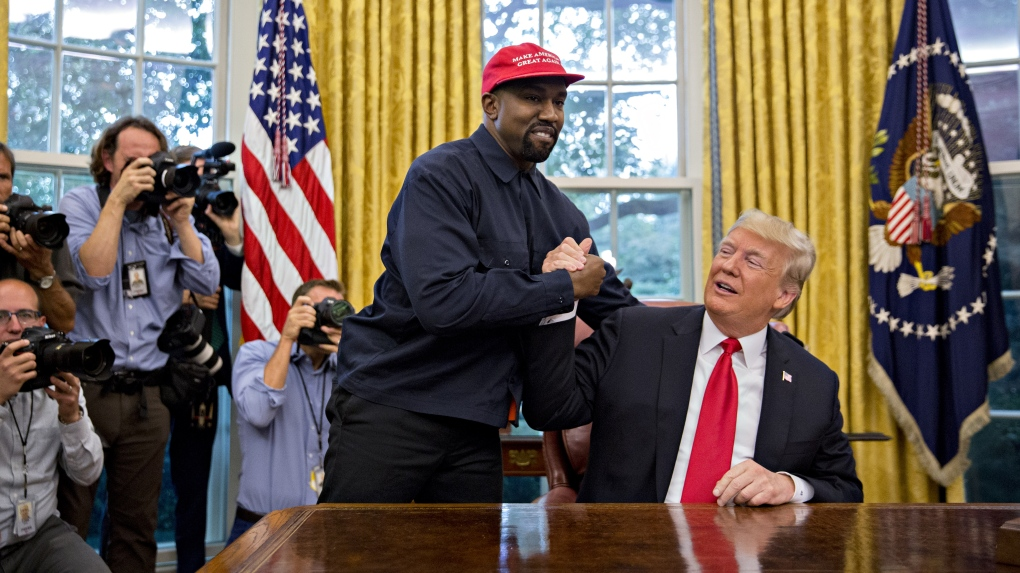 Kanye West, #1 MAGA Hat Wearer, Says He No Longer Supports Trump