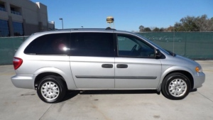 Police say they're looking for a grey 2005 Dodge Caravan in connection a double homicide in Vancouver.