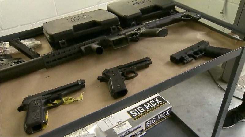 Vancouver police say the number of replica gun seizures has doubled from two years ago.