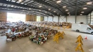 LaSalle donations from the June 27th Miracle topped 340,000 pounds of food, baby products, pet food and hygiene products. (Courtesy LaSalle Miracle Community)