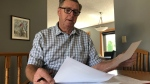 Boyd Godfrey says he's out $10,000 after a tenant refused to pay rent and utilities since February. (Francois Biber/CTV Saskatoon)