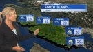 Mid-week weather forecast