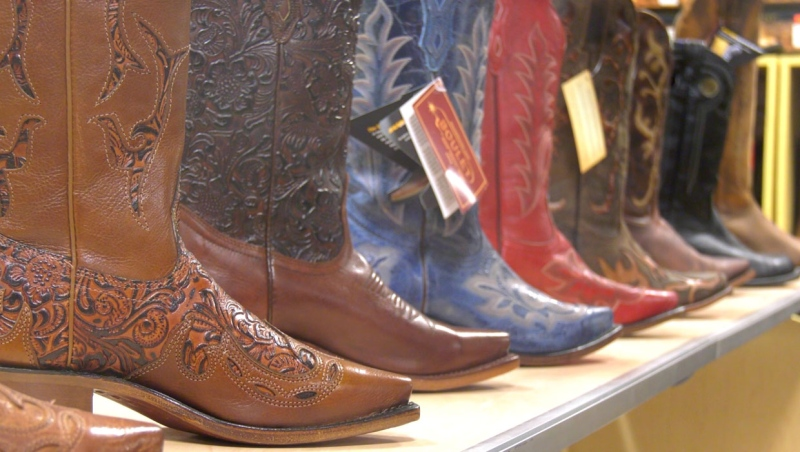 Businesses like the Alberta Boot Company have experienced a noticeable drop in sales without the Calgary Stampede this year.