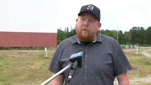 Event organizer Jerry Holland says the Cape Breton Drive-In is the perfect place for a concert under the stars.