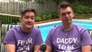 Joel Arsenault and Jason Starratt, who have been married for almost four years, are excitedly awaiting the arrival of their baby.