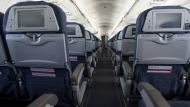 Airplane seat airline plane travel