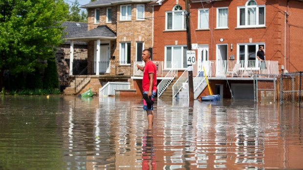 Photo of Flooding and power outages reported after wild storm slams Toronto | CTV News
