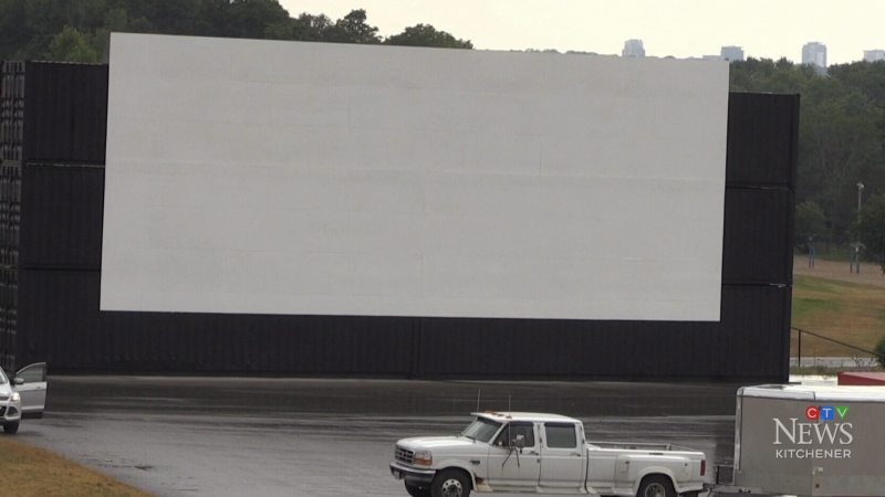 Drive-in movies return to Bingemans