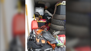 Police are working to return more than $30,000 worth of stolen items that were seized from a Saanich storage locker: (West Shore RCMP)