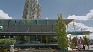 The Burnaby Public Library's Tommy Douglas branch. (Google Streetview)