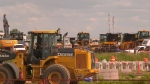 Bypass road equipment auctioned