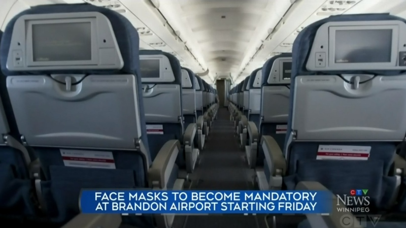 New rules for flying out of Brandon