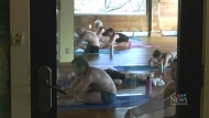 Yoga studio bars clients from using masks