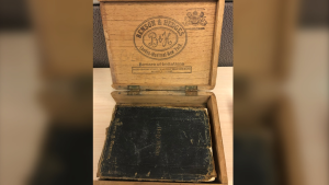 Kingston Police say two Bibles were discovered with various other stolen property. (Photo courtesy: Kingston Police)