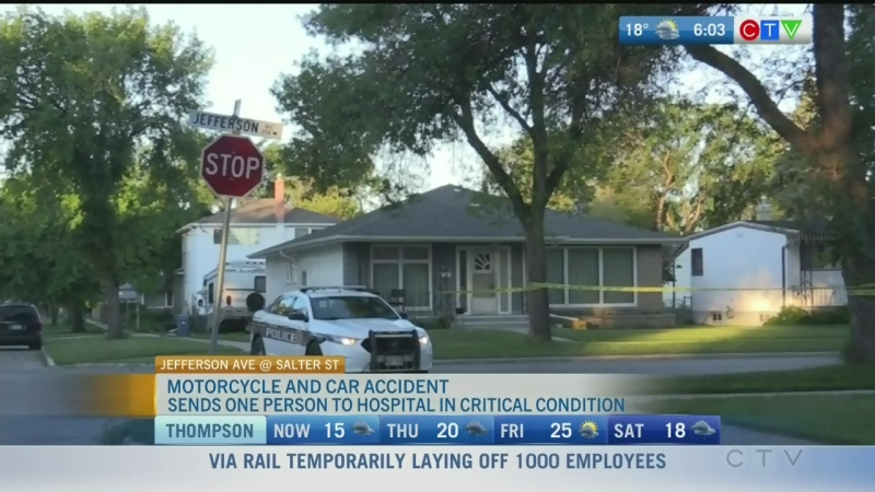 Motorcycle crash, Fiscal update: Morning Live