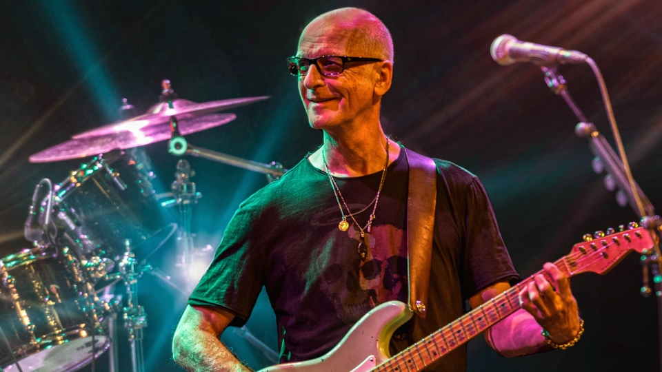 Veteran rocker Kim Mitchell says he's reconciled with not touring again.