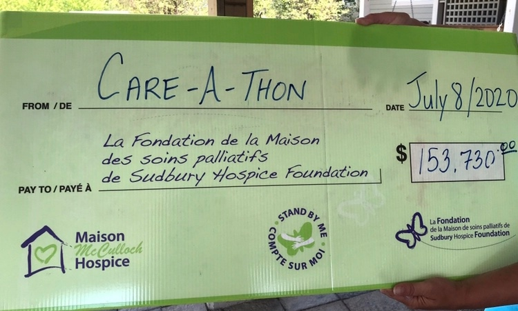 First-ever Care-a-Thon for Sudbury's Maison McCulloch Hospice. Jul 8/20 (Molly Frommer/CTV Northern Ontario)