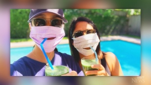 With face masks becoming part of our lives, some new innovations could now allow you to eat and drink while being covered.